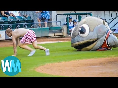 Top 10 Ridiculous Mascot Moments