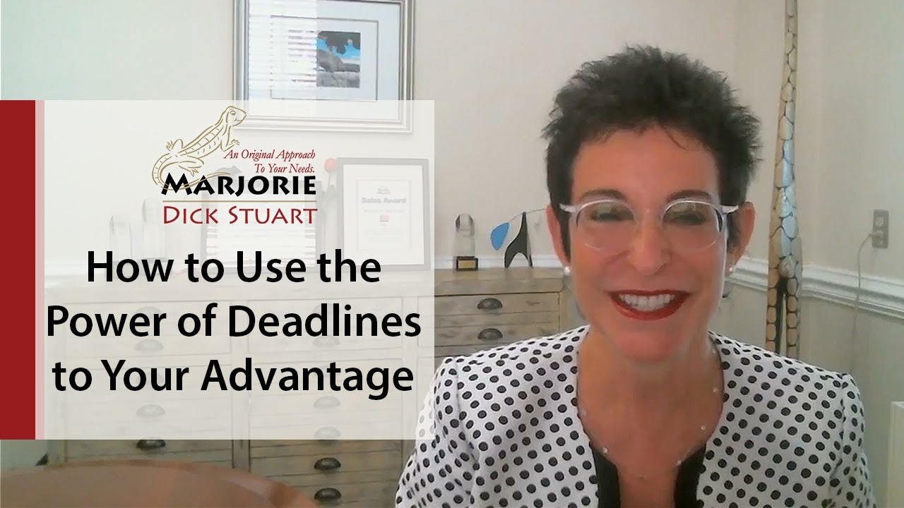 What's Working Now! - How to Use the Power of Deadlines to Your Advantage