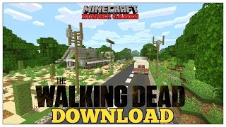 Minecraft: THE WALKING DEAD| Hunger Games| Map Download | ( XBOX, PS3, PS4 )