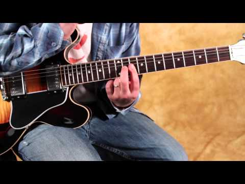 Blues guitar tricks – double stops inspired by BB King and SRV