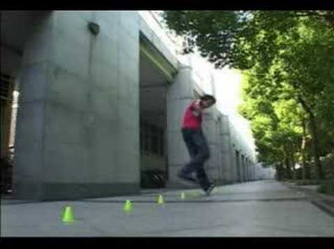 inline - Freestyle slalom video made in Shanghai, Paris, La Rochelle.