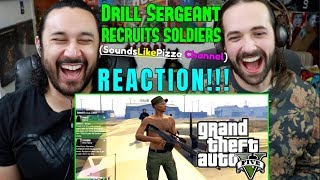Drill Sergeant Recruits Soldiers!  REACTION!!! by The Reel Rejects