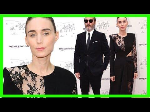 Rooney Mara and Joaquin Phoenix walk carpet apart at LA premiere