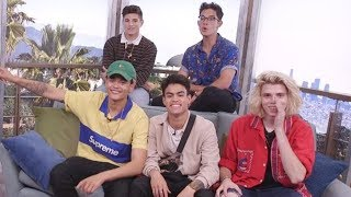 Video PRETTYMUCH Spins The Clevver Wheel & Reveals Tattoo Meanings, Decodes Niall Horan Lyrics MP3, 3GP, MP4, WEBM, AVI, FLV September 2018