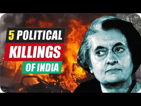 5 Shocking Political Assassinations of India [Hindi]