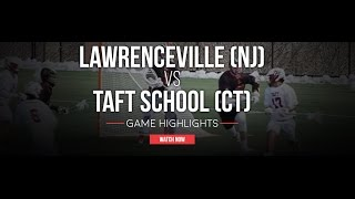 Lawrenceville (NJ) United States  City new picture : Lawrenceville (NJ) vs Taft (CT) | 2016 High School Highlights