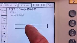 Ricoh SC codes