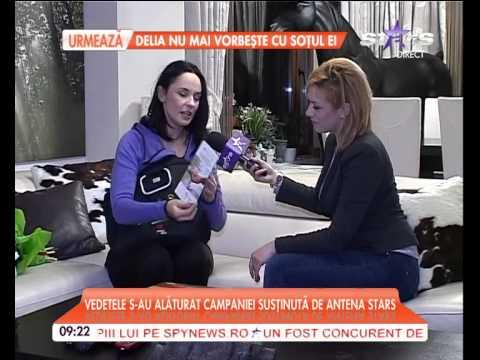 Andreea Marin si Alege demnitatea se alatura campaniei de ajutorare a femeilor