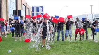 BTR accepted the ALS Ice Bucket Challenge