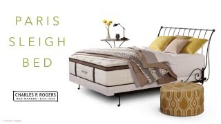 Paris Iron Sleigh Bed video