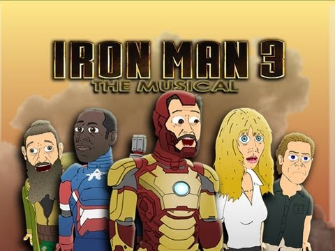 ♪ IRON MAN 3 THE MUSICAL - Animated Parody