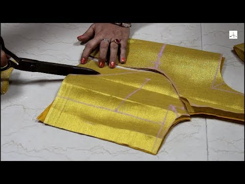 Video Three Pleated Princess Cut Blouse Cutting, how to make prince cut blouse, Part 1 download in MP3, 3GP, MP4, WEBM, AVI, FLV January 2017