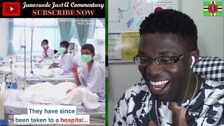 Thai Soccer Team Boys || Hospital Recovery || Boar TEAM  Rescue || . Junosuede Reaction