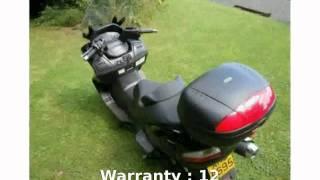 5. 2009 Suzuki Burgman 650 Walkaround & Info
