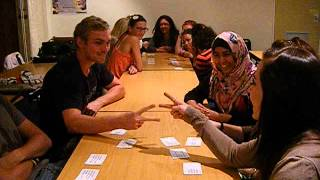 Stellenbosch University students play Ogoola Karuta in English!