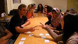 Stellenbosch University students play Ogoola Karuta in English!