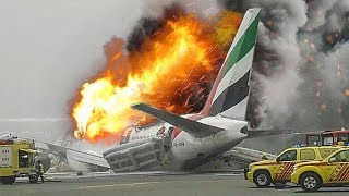 Video Desperate Escape | Boeing 777 Crash in Dubai | Emirates Airlines Flight 521 | 4K MP3, 3GP, MP4, WEBM, AVI, FLV April 2019