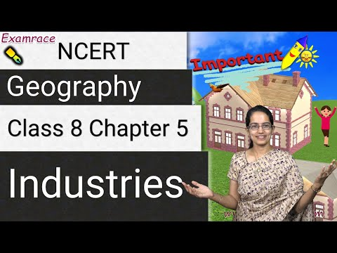 NCERT Class 8 Geography Chapter 5: Industries