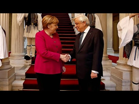 Griechenland: Bei Merkel-Besuch deutsche Reparationen gefordert