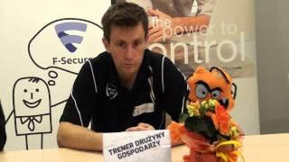 Wywiad po meczu Nbit Gliwice - HEIRO RZESZÓW