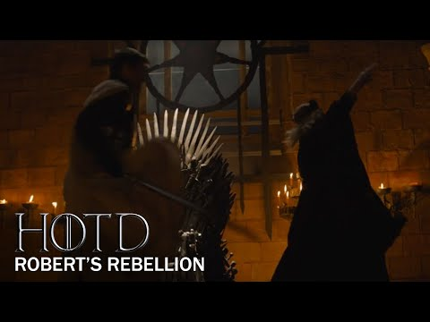 Game of Thrones Prequel: Robert's Rebellion Explained (HBO) | House of the Dragon