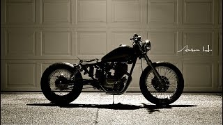 10. Honda Rebel Bobber Project - In the Making