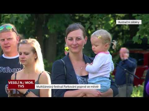 TVS: Veselí nad Moravou - Festival v parku - parkování