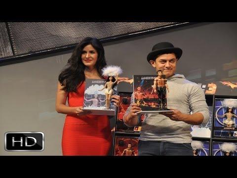 Aamir - Katrina Unveil 'Dhoom 3' Merchandise