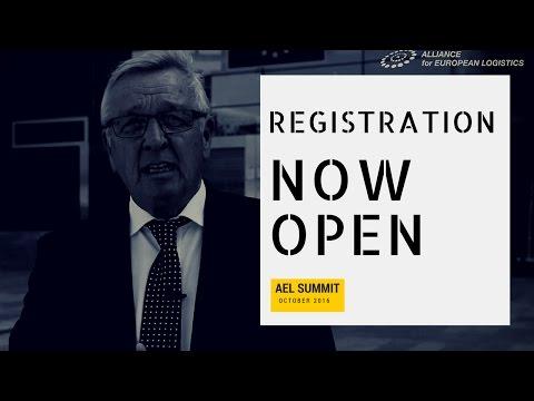 Mathieu Grosch invites you to the European Logistics Summit 2016