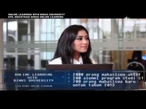 Registrasi Binus Online Learning