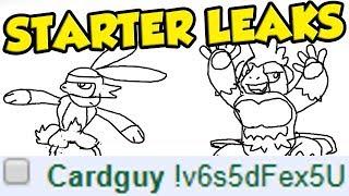 Card Designer Leaks Pokemon Sword and Shield Starter Evolutions and New Gen 8 Pokemon... by Verlisify