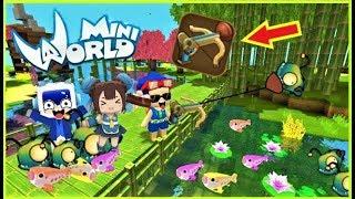 Mini World: Cuộc thi câu cá bằng hút hầm cầu ^^ | Phong Cận Tv