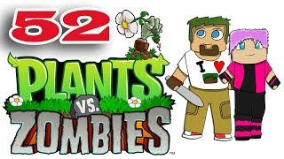 ч.52 Растения против Зомби с кошкой - Выживание: Крыша (сложно)