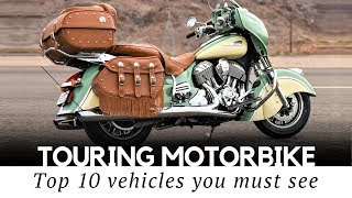 8. Top 10 Touring Motorcycles for Comfortable Life on the Open Road