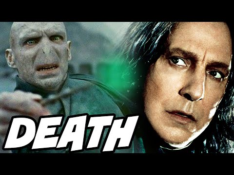 Why Voldemort Didn't Use Avada Kedavra on Snape - Harry Potter Explained