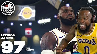 NBA 2K20 GRAPHICS AND TOP PLAYERS RATINGS REACTION! LEBRON IS NUMBER 1!