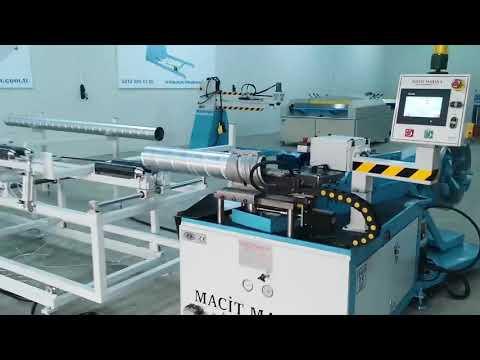 Yuvarlak Kanal Makinası Kalıplı+Plazma Kesim