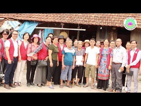 Chi hội Tán trợ Chữ thập đỏ Tình Người khảo sát 75 nhà CTĐ tại Kiến Thụy, Hải Phòng