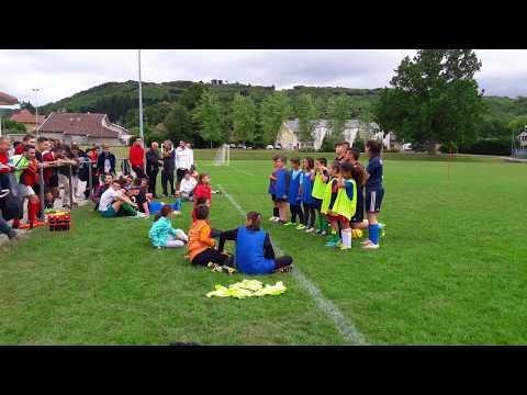 Fin du match de GALA -Ecole de foot