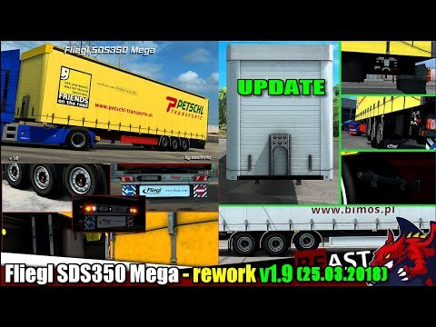 Fliegl SDS350 Mega – Rework by obelihnio v1.9
