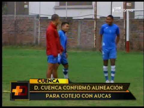 Deportivo Cuenca confirmó alineación para cotejo con Aucas