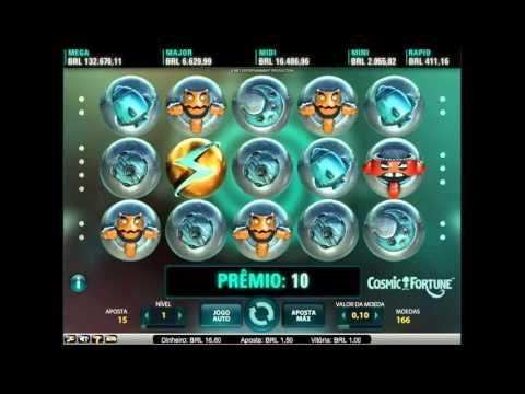 Slot Caça Niquel COSMIC FORTUNE - GANHEI R$50,00!! - Vera&John - Aposta DINHEIRO REAL