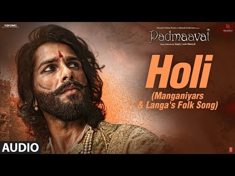 Padmaavat: Holi (Manganiyars & Langa's folk song)