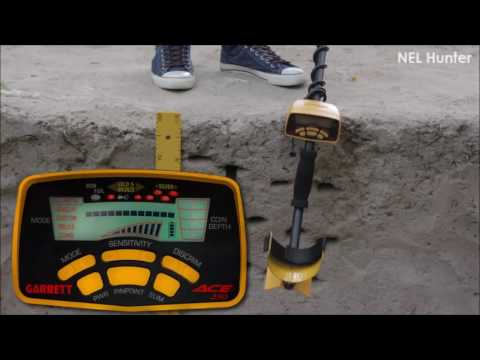 Testing NEL Hunter Search Coil with Garrett ACE 250 - Target: 1 Euro Coin