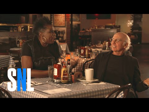 LOL! Larry David and the SNL promos are hilarious