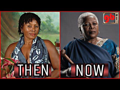 Isibaya Actors Then VS Now