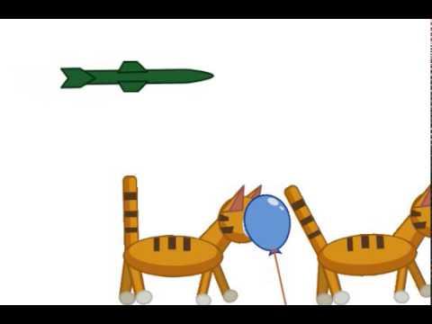 коты низа ме теле ракету - мая первая анимация - ресуем мультфильмы мы 2