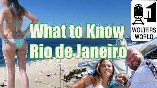 Rio De Janeiro Brazil  City pictures : Visit Rio - What To Know Before You Visit Rio de Janeiro, Brazil