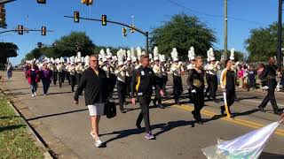 Download Lagu Oak Grove Warrior 6A State Champion Marching Band – Veteran's Day Parade 11-10-17 Mp3