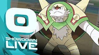 ANALYTIC CHESNAUGHT! Pokemon Ultra Sun & Moon! Inheritance Showdown Live w/PokeaimMD by PokeaimMD